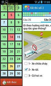 Ôn thi giấy phép lái xe gplx