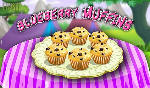 blue berry muffins cooking