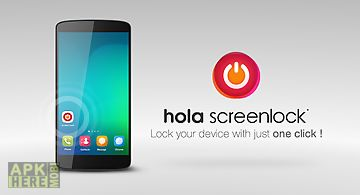 Hola screen lock