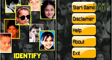 Identify bollywood toddlers