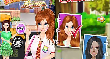 Schoolgirl dress up