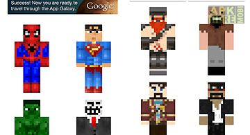 Hd Boy Skins For Minecraft Pe For Android Free Download At Apk Here - Skins para minecraft pe hd