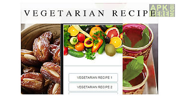 Recipes apps for android free download apkherebi vegetarian recipes food forumfinder Images
