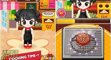 Chef judy: burger maker - cook