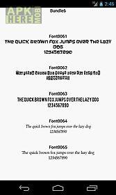 fonts for flipfont 6