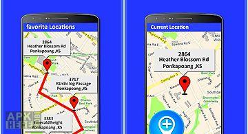 Friend mobile location tracker