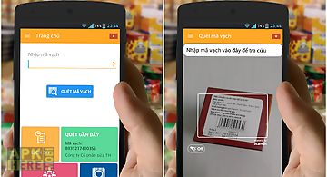 Barcode product lookup origin for Android free download at