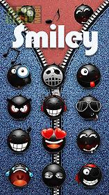 go keyboard sticker smiley