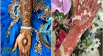Mehndi App For Android : Stylish mehndi design for android free download at apk here store