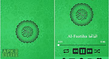 Al quran mp3 - quran reading® for Android free download at Apk Here