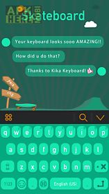 skateboard theme-kika keyboard