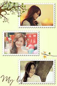 flower photo collage art free