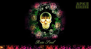 Rose soul go launcher theme