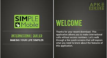 Simple mobile international