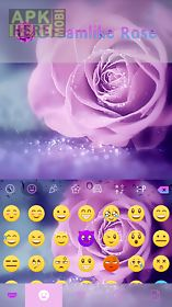 dreamlike rose keyboard theme