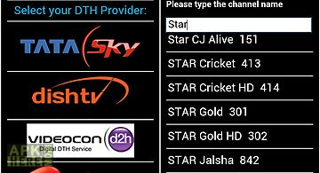 Dth television guide india
