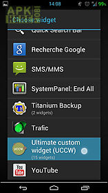 Elegante uccw skin for Android free download at Apk Here