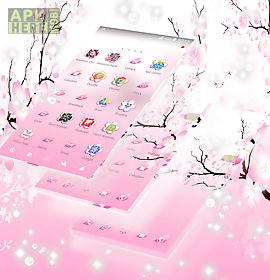 pink cherry go theme