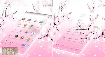 Pink cherry go theme