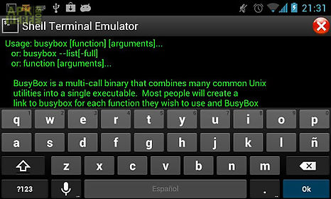 shell terminal emulator