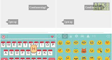 Everyday theme emoji keyboard