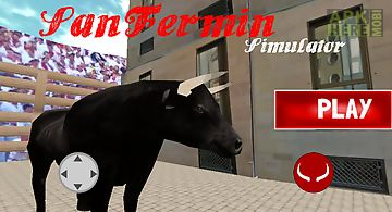 San fermin bull run simulator