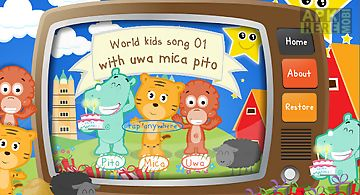 World kids song 01