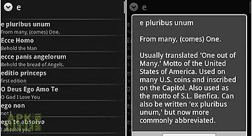Latin phrasebook
