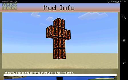 download lucky block mod