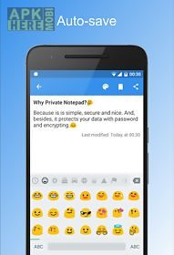Private notepad - notes for Android free download at Apk
