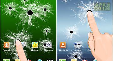 Broken screen - crack free