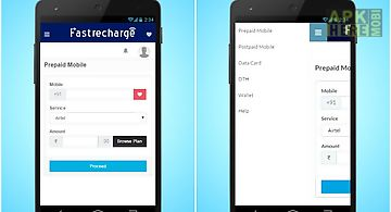 Fastrecharge - mobile recharge