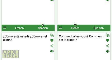 French - spanish translator