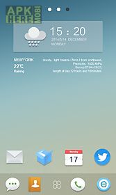 fresh life go launcher theme
