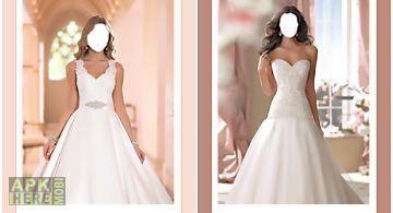 Lovely wedding photo montage