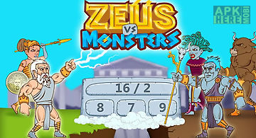 Math games - zeus vs. monsters