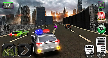 Police chase street crime 3d