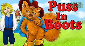 Puss in boots kids storybook