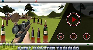 Army shooter training