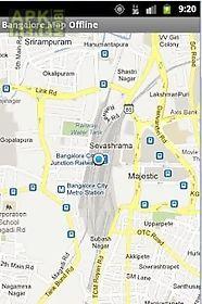 bangalore map search offline