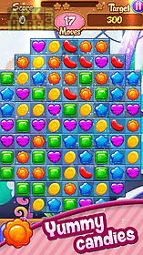 candy deluxe match 3 puzzle