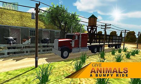 farm animal transporter truck