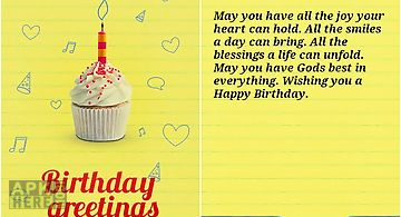 Happy birthday text greetings