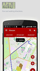 moscow map offline