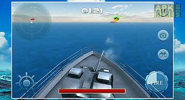 Navy gunship bullet shoot war