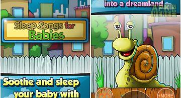 Sleep songs for babies