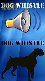 sounds dog whistle