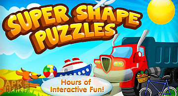 Super shape & word puzzle game