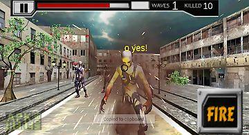Zombie street road killer 3d
