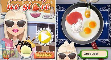Celebrity ice cream store